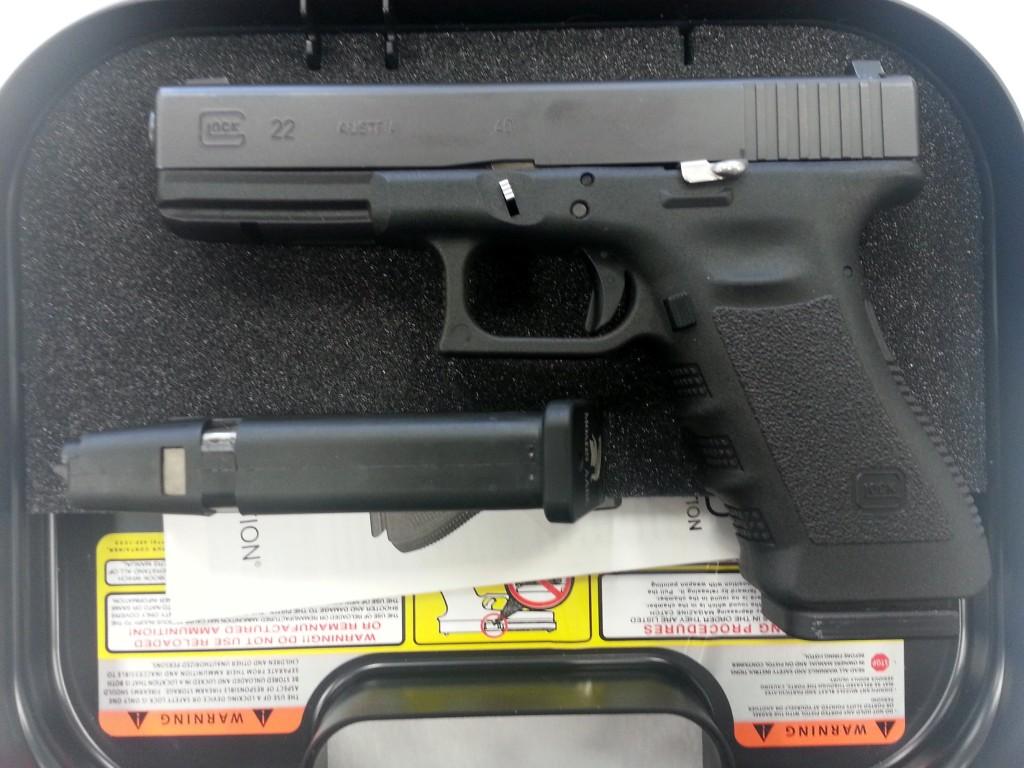 Glock 22 GEN 3 Night Sights-2