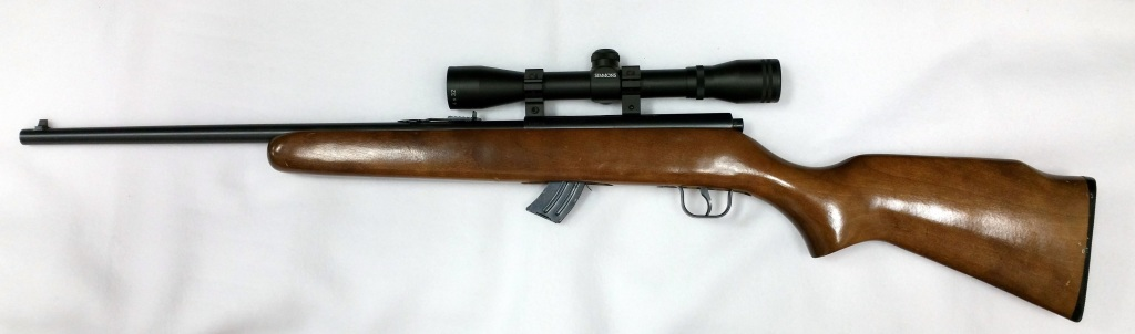 Lakefield Mark II 22 LR Bolt action rifle with scope-2