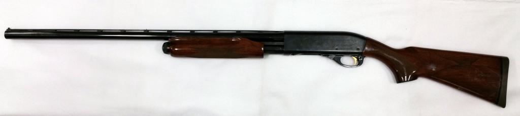Remington 870 Wingmaster Pump with Etching-1
