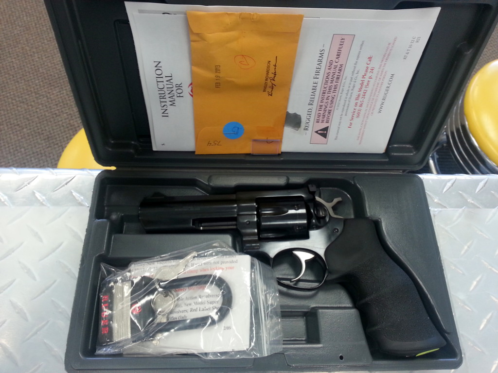 Ruger GP100 GP-141 Number 1702
