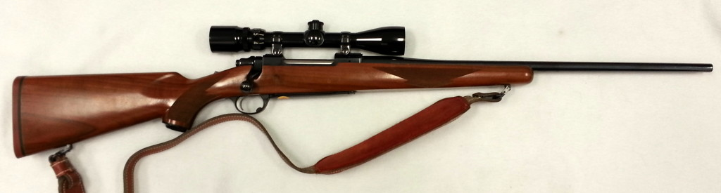 Ruger M77 30-06 with Scope