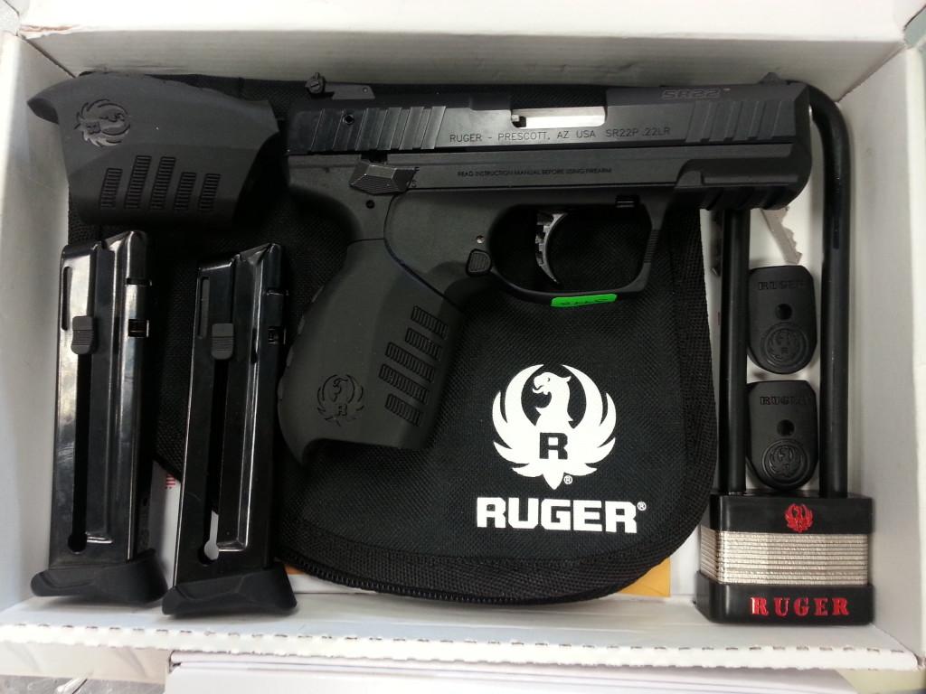 Ruger SR22 Model 3600-2