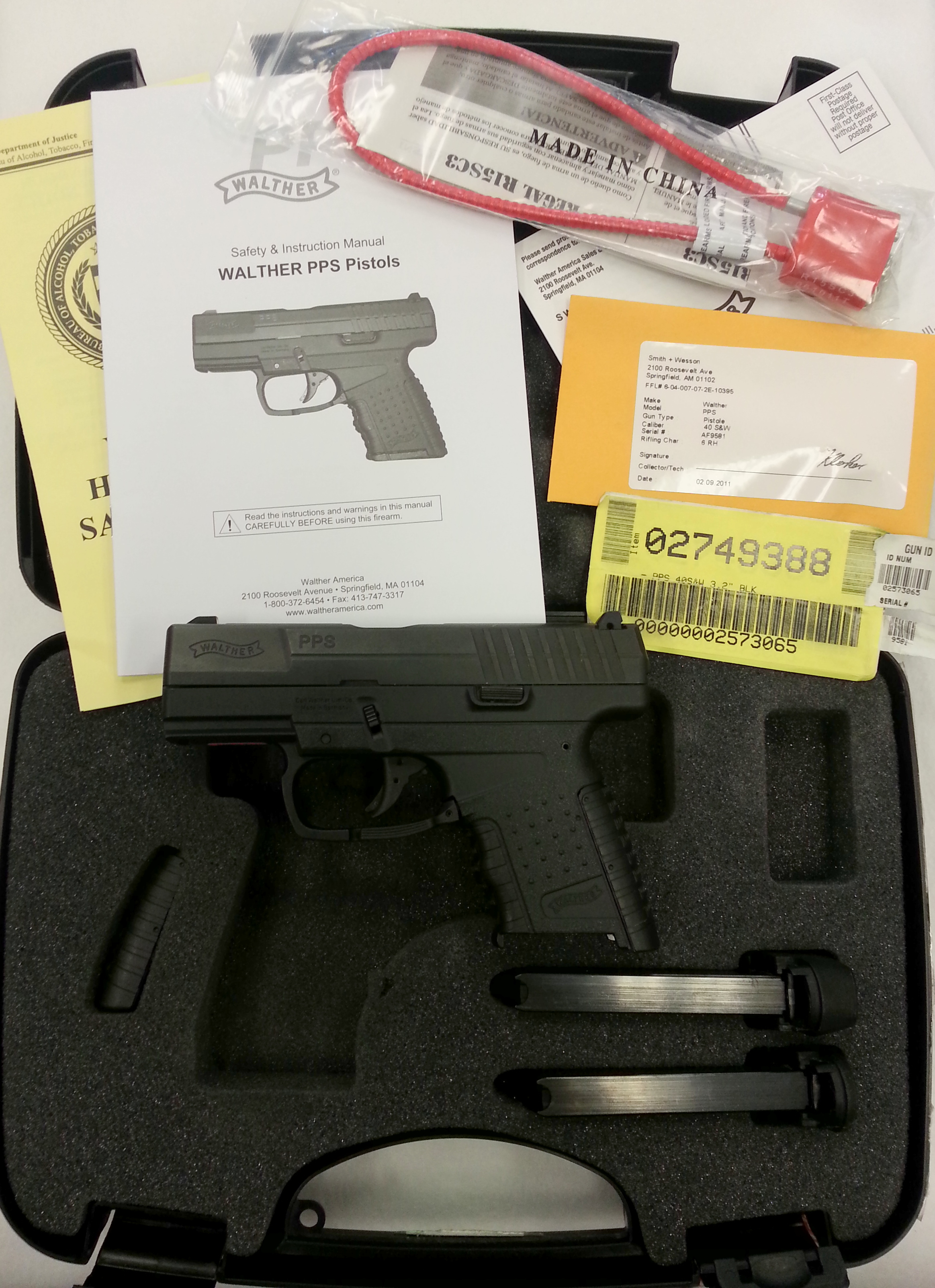 Walther PPS 40 cal-2